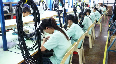 cable assembly production workers